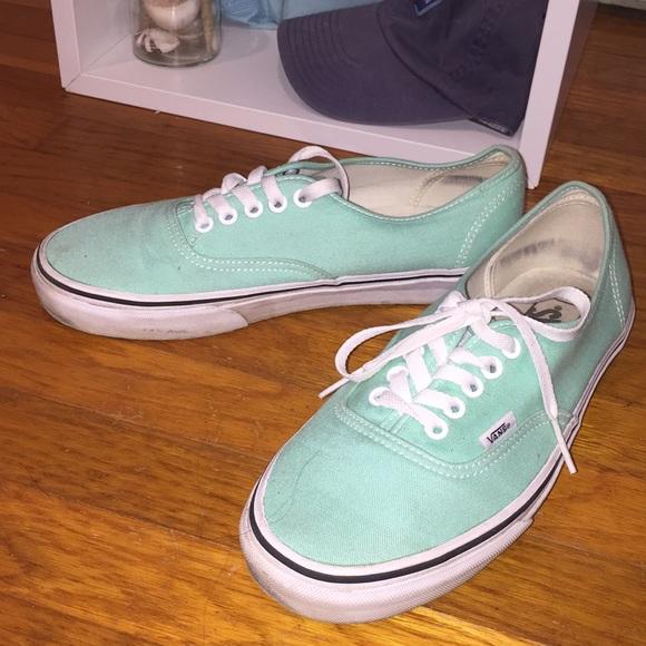 Vans Shoes   Light Blue Vans Womens